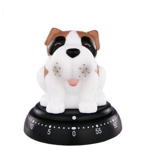 "TIME BANDITS - χρονόμετρο ""σκύλος"", λευκό"