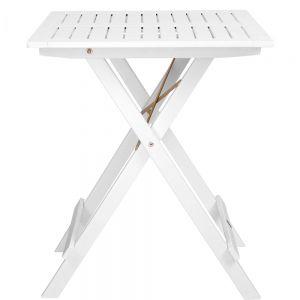 LODGE - πτυσσόμενο τραπέζι FSC λευκό