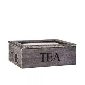 CAMPAGNE - κουτί για τσάι με τρεις θήκες