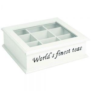 "CAMPAGNE - κουτί για τσάι ""The World's finest tea"""