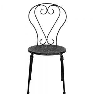PALAZZO - καρέκλα μαύρη