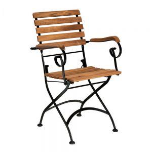 PARKLIFE - πτυσσόμενη καρέκλα με μπράτσα