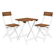 MORNING STAR - σετ τραπέζι με 2 καρέκλες