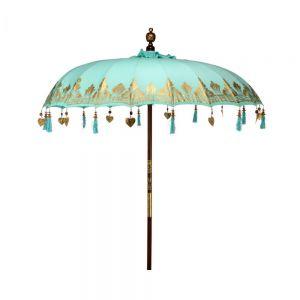 ORIENTAL LOUNGE - ομπρέλα κήπου τιρκουάζ