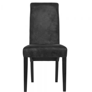 HIGH NOON - καρέκλα δείπνου vintage μαύρο
