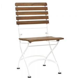 PARKLIFE - πτυσσόμενη καρέκλα λευκή