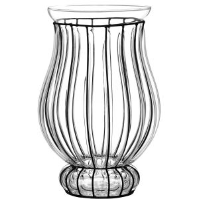 SUMMER - φανάρι από γυαλί και μέταλλο 35cm
