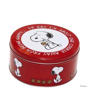 PEANUTS - κουτί στρογγυλό Snoopy/biscuit