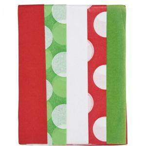 SURPRISE - ρυζόχαρτο σετ των  5 πράσινο/κόκκινο