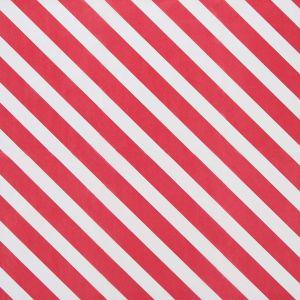 SURPRISE - ρυζόχαρτο κοκκινο/ λευκό ριγέ