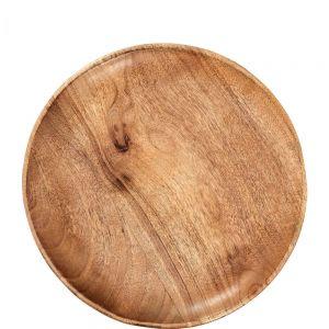 FOREST - διακοσμητική πιατέλα από ξύλο mango. 30cm