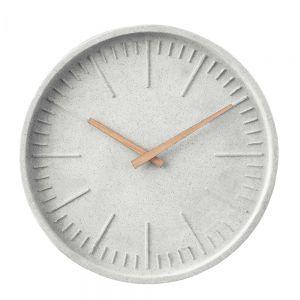WALL COUTURE - ρολόι τοίχου από σκυρόδεμα O30cm