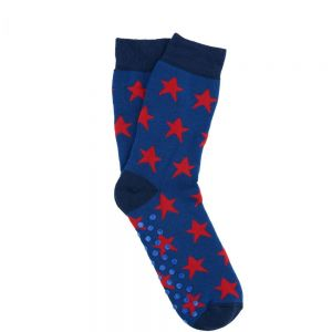 COZY SOCKS - κάλτσες μπλε με αστέρι 35-38