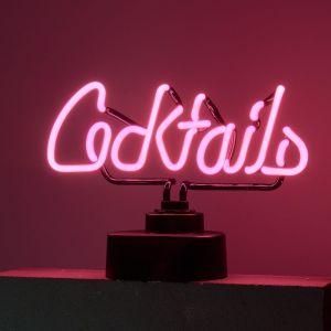 COCKTAILS - φωτιστικό neon cocktails