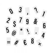 BLOCKBUSTER - 90 επιπλέον αριθμοί/χαρακτήρες για το φωτεινό πίνακα 30x22 cm και XL
