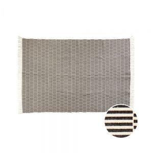 SILENT DANCER - χαλί μαύρο/λευκό 120x170cm