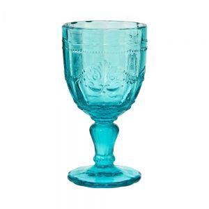 VICTORIAN - ποτήρι κολωνάτο τιρκουάζ 230 ml