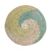 RONDA - σουπλά από φύκι, μπλε-πράσινο-λευκό