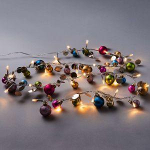 COLOR LIGHTS - LED Χριστουγενιάτική σειρά led με μπάλες