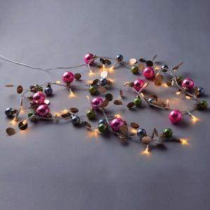 JOLLY LIGHTS - LED  με πολύχρωμες  χριστουγεννιάτικες μπάλες