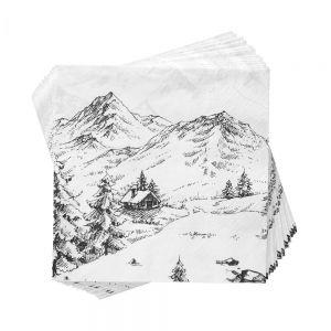 APRES - χαρτοπετσέτες Alpin