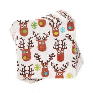APRES - χαρτοπετσέτες Mad Rudolph