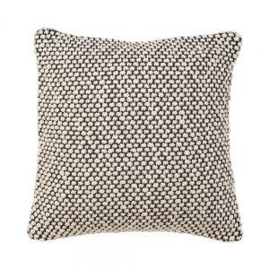SOFT NEEDLE - μαξιλάρι πλεκτό με κουκκίδες 50x50