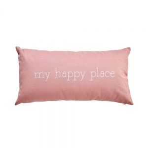 WORDS - μαξιλάρι my happy place 30x60