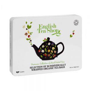 "THE ENGLISH TEASHOP - κουτί με τσάι 36τμχ, ""Classic Selection"""