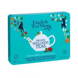 """THE ENGLISH TEASHOP - κουτί με τσάι 36τμχ, """"Wellness Selection"""""""