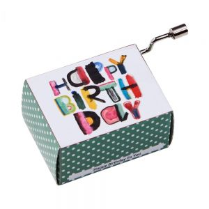 SING A SONG - μουσικό κουτί happy birthday,mod