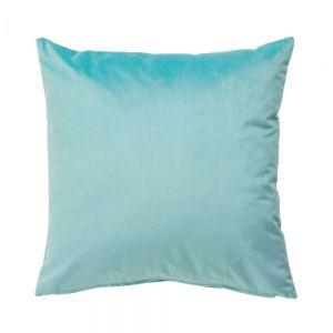 VELVET DREAM - βελούδινο μαξιλάρι 45x45 τιρκουάζ