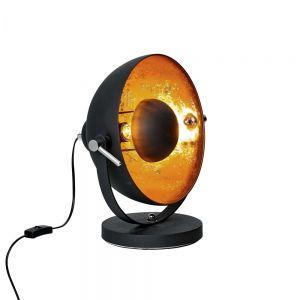 SATELLIGHT - επιτραπέζιο φωτιστικό μαύρο-χρυσό