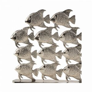 """SILVER NATURE - διακοσμητικό """"Fishes"""""""