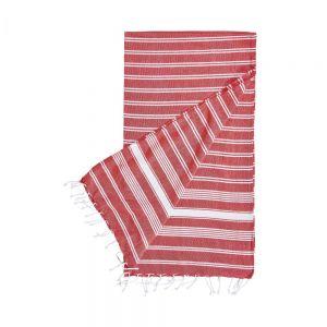 SURFSIDE - πετσέτα χαμάμ 90x170cm κόκκινη