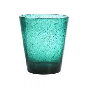 WATER COLOUR - ποτήρι O 9cm 290ml τιρκουάζ