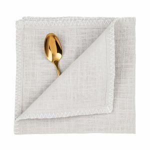 FINCA - πετσέτα γκρι