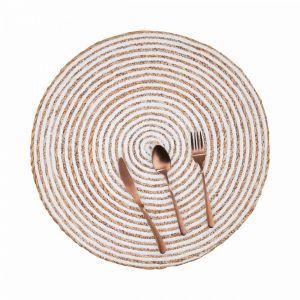 SAUVAGE - σουπλά φυσικό/λευκό φινίρισμα 38cm