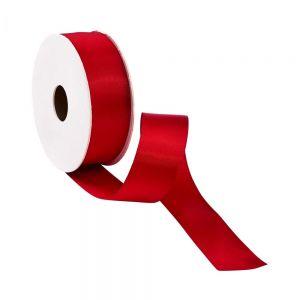 SATIN - κορδέλα 5m x 25mm κόκκινη