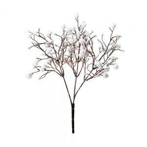 WINTERGREEN - χιονισμένα κλαδιά με λευκά μούρα