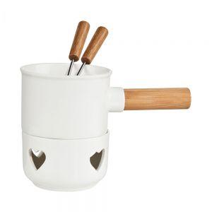 HOT CHOC - σκεύος mini fondue cholocate  heart
