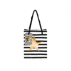 X-MAS - τσάντα δώρου αστέρι μικρή