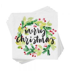 APRES - χαρτοπετσέτες merry christm.ilex