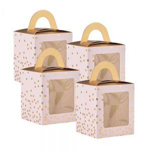CELEBRATION - κουτί για cupcake σετ 4τμχ