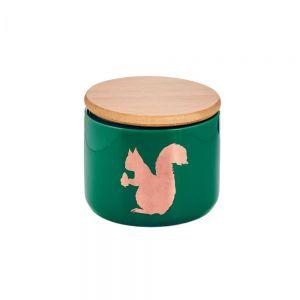 QUEEN IT - δοχείο αποθήκευσης σκίουρος πράσινο S