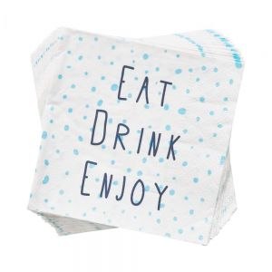 APRES - χαρτοπετσέτα Eat Drink Enjoy