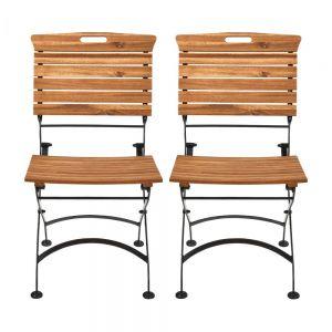 GARDEN STATE - καρέκλες πτυσσόμενες σετ 2 τεμάχια