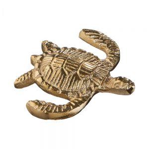 GOLDEN NATURE - διακοσμητική χελώνα, χρυσή
