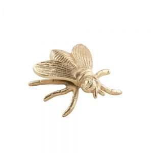 GOLDEN NATURE - διακοσμητική μέλισσα 11cm