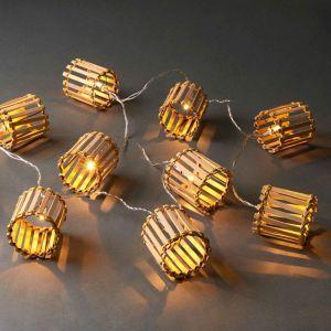 BAMBOO LIGHTS - LED φωτεινή αλυσίδα μπαμπού 10l